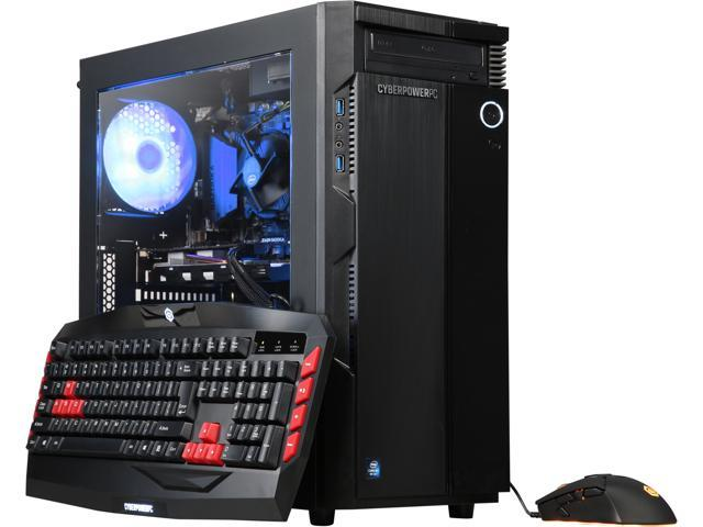 CyberpowerPC Gaming Desktop Gamer Xtreme C565 Intel Core i5+ 8th Gen 8400 (2.80 GHz) 8 GB DDR4 1 TB HDD 16 GB Optane Memory NVIDIA GeForce GTX 1060 Windows 10 Home 64-Bit