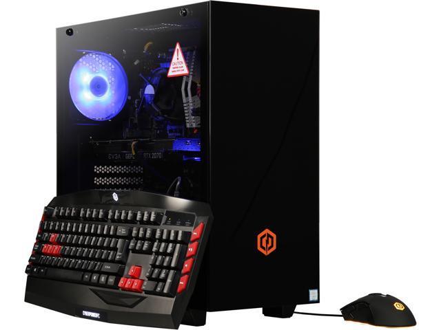 f1da4a1112a CyberpowerPC Gaming Desktop Gamer Xtreme C790T Intel Core i7 9th Gen 9700K  (3.60 GHz) 16 GB DDR4 2 TB HDD 240 GB SSD NVIDIA GeForce RTX 2070 Windows  10 Home ...