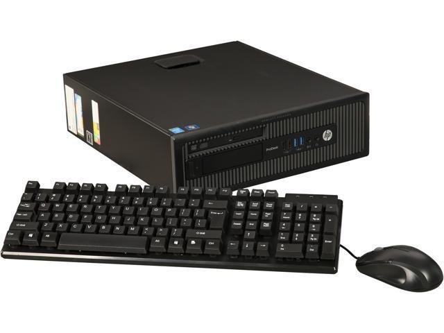 Refurbished: HP A Grade Desktop Computer 600 G1 - SFF Intel Core i5 4th Gen  4570 (3 20 GHz) 8 GB DDR3 500 GB HDD Windows 10 Pro 64-bit - Newegg com