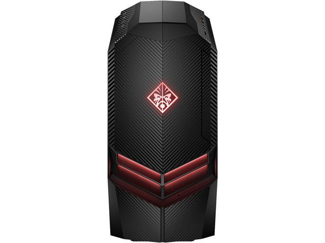 HP Desktop Computer Omen 880-040 Ryzen 7 1st Gen 1800X (3 60 GHz) 16 GB  DDR4 2 TB HDD 512 GB SSD NVIDIA GeForce GTX 1080 Windows 10 Home 64-Bit -