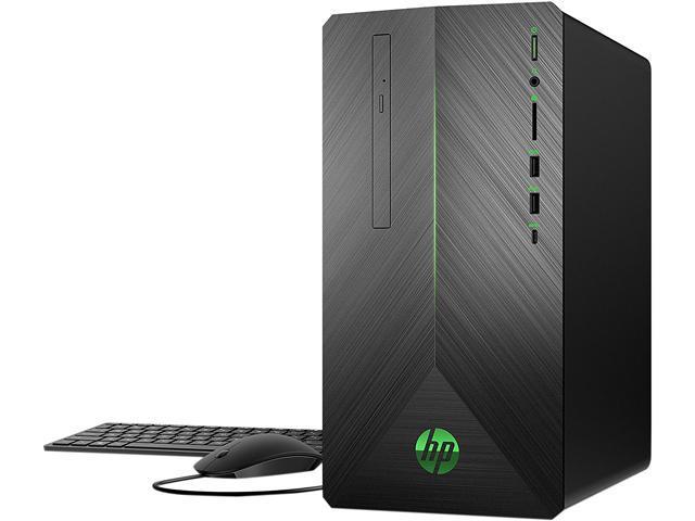 d822c49be HP Gaming Desktop Pavilion 690-0019 Ryzen 5 2400G (3.60 GHz) 8 ...