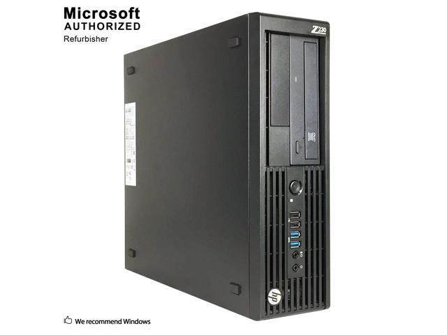 Refurbished: HP Z230 Gaming SFF Intel Core I5-4570 3 20GHz, Quad-Core, 6M  Cache, up to 3 60GHz 12GB DDR3, 120GB SSD+2TB, Brand new GTX1050 Ti 4GT LP,