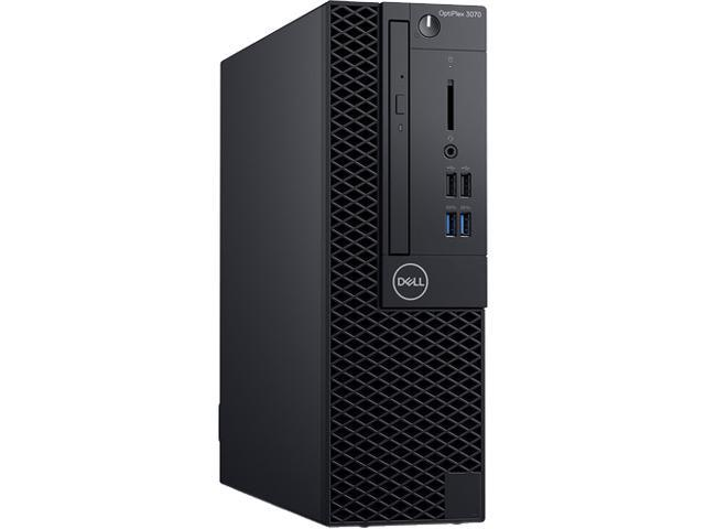 DELL OPTIPLEX 3070 (CPJT9) - Business Desktop PC - Intel Core i5 9500 (6-Core 3.0 GHz), Intel UHD Graphics 630, 8 GB DDR4, 256 ...
