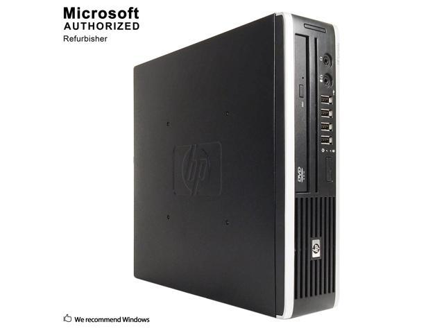 Refurbished HP Grade A Compaq 8200 Elite Ultra-slim PC Intel Core i5 2400S (2.5 GHz), 4 GB DDR3, 120GB SSD, WIFI, Bluetooth 4.0, DVD, Win 10 Home 64-bit (EN/ES), 1 Year Warranty