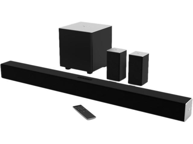 Vizio Sb3851 C0 38 Inch 5 1 Channel Sound Bar With Wireless Subwoofer And Satellite