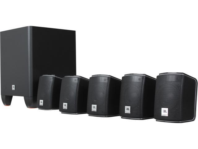 Jbl Home Speakers >> Jbl Cinema 510 5 1 Ch Home Theater Speakers System With Powered Subwoofer Newegg Com