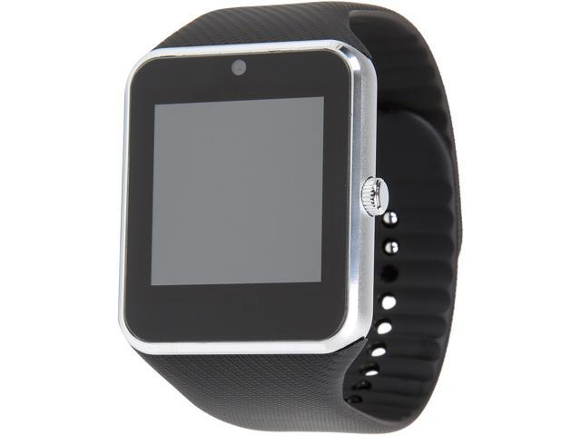 Krazilla Bluetooth Smart Watch for Android Phones (Silver)