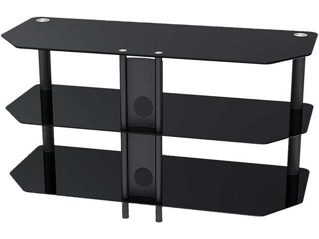 Inland 5445 Fit For Max 42 Inch Tv Black Tv Stand Fits Tvs Up To 42in