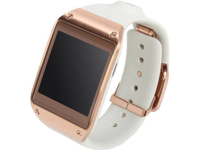 Open Box Samsung Rose Gold Galaxy Gear Sm V7000wdaxar Galaxy Gear