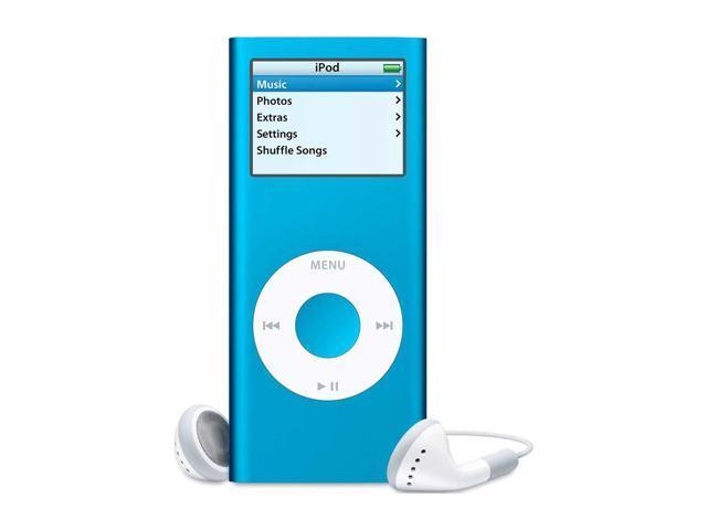 apple ipod nano 2nd gen 1 5 blue 4gb mp3 player ma428ll a rh newegg com iPod Classic 2nd Generation iPod Shuffle 2nd Generation