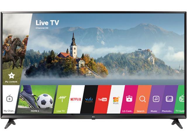 LG 65UJ6300 65-Inch 4K Ultra HD HDR Smart TV