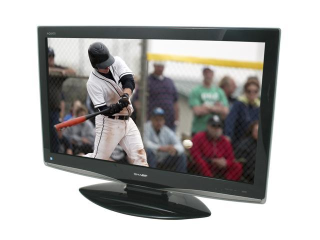 Sharp Aquos 37 Lcd Hdtv W Built In Atsc Tuner Lc37d43u Neweggcom