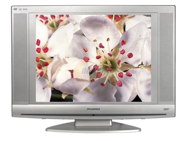 SYLVANIA LD 200SL8 Silver Combo TV