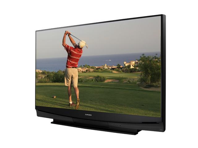 "mitsubishi electric 60"" 1080p rear projection television"