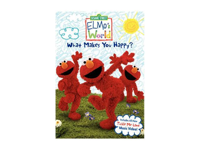 Seasame Street Elmo S World What Makes You Happy Dvd