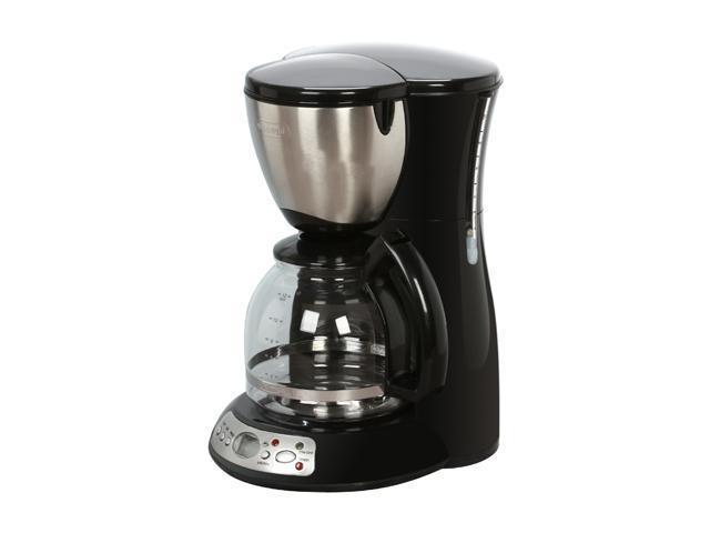 Delonghi Dc36tb Black 12 Cup Programmable Gl Carafe Coffeemaker