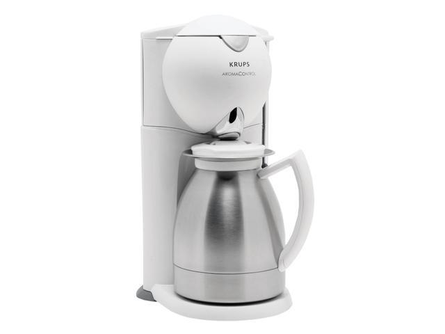 Krups 229 7a Aroma Control Coffeemaker With Thermal Carafe And Programmable Timer