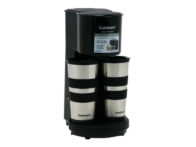 Cuisinart Ttg 500 Black Two To Go Coffeemaker Neweggcom