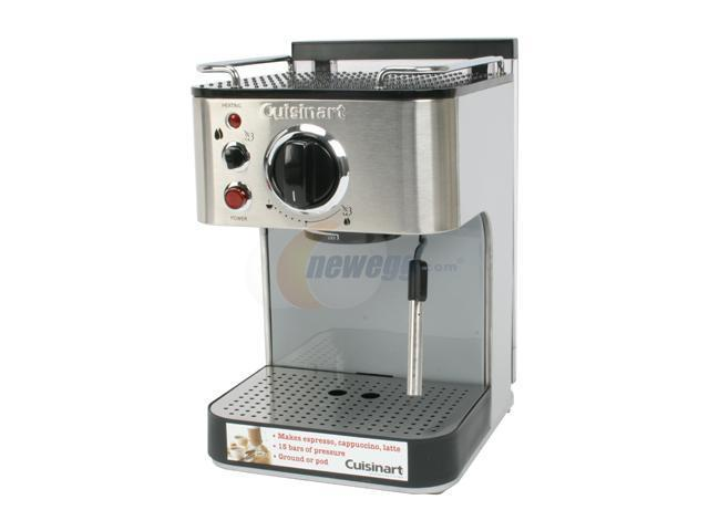 Cuisinart Em 100 1000 Watt 15 Bar Espresso Maker Stainless Steel