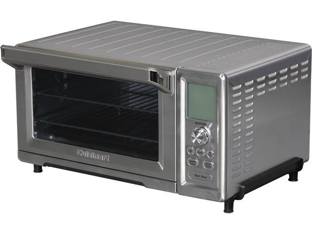 c4e2775bc8c Cuisinart TOB-260 Stainless Steel Dual Cook Speed Convection Toaster Oven  Broiler