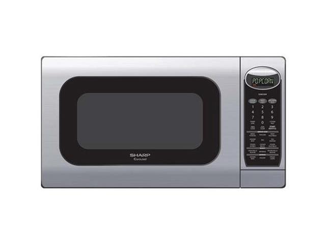Sharp 1100 Watts Family Size Countertop Microwave Oven R 425ls Stainless Steel