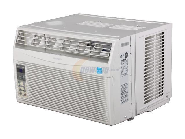 sharp af s85rx 8 000 cooling capacity btu window air conditioner rh newegg com