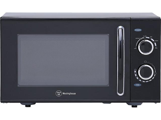 Westinghouse 900 Watts Watt Counter Top Rotary Microwave Oven 0 9 Cubic Feet