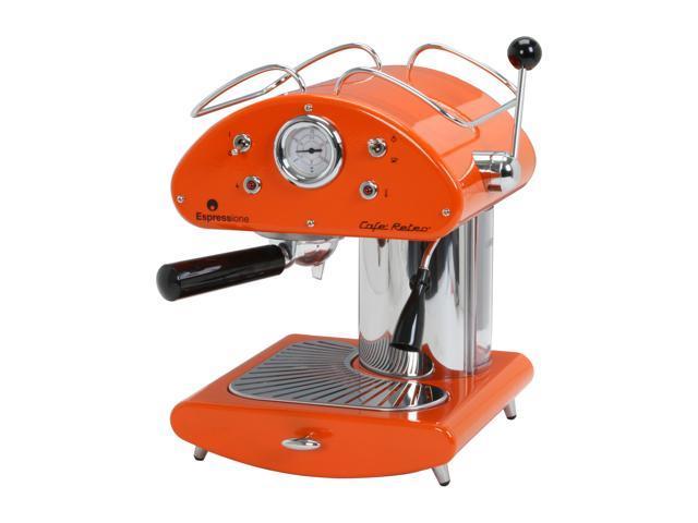 Espressione 1385O Cafe Retro Espresso Machine Orange - Newegg.com