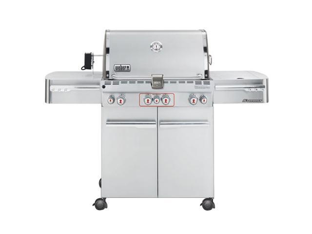 weber summit s 470 gas grill lp 2740001 stainless steel. Black Bedroom Furniture Sets. Home Design Ideas