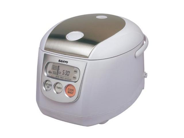 sanyo ecj d100s 10 cup micom rice cooker steamer newegg com rh newegg com sanyo ec-5 rice cooker manual sanyo ec-5 rice cooker manual