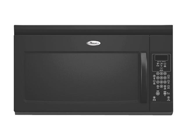 Whirlpool 950 Watts Microwave Hood Combo Mh1160xsb Black