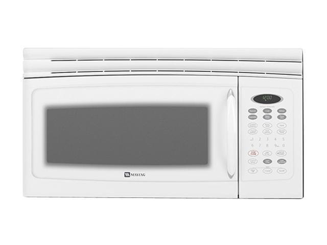 Whirlpool Maytag Over Range Microwave Mmv5165baw Oven Newegg