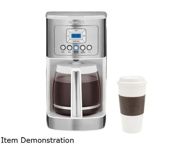 Cuisinart Dcc 3200w White 14 Cup Programmable Coffeemaker