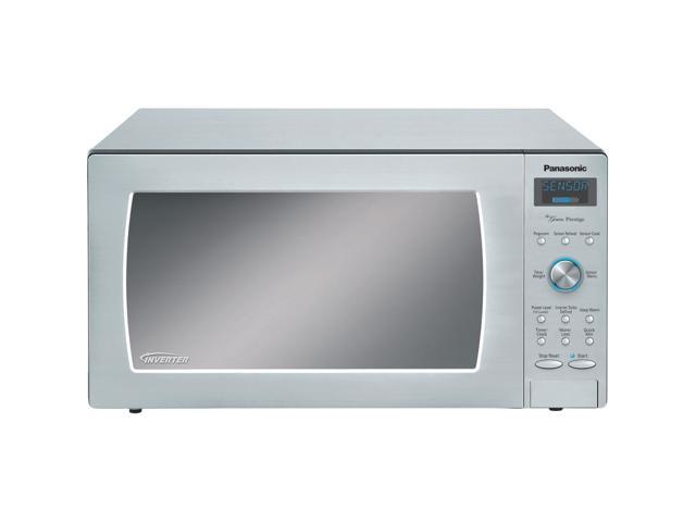 Panasonic Nn Sd797s 1 6 Cu Ft 1250w Countertop Built In Microwave
