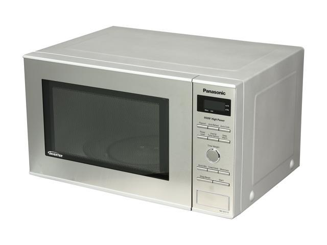 Panasonic Nn Sd372s Stainless 950w 0 8 Cu Ft Steel Countertop Microwave With Inverter Technology