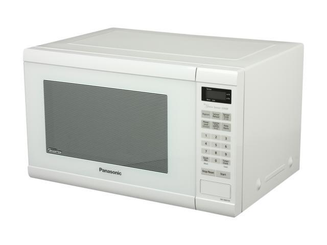 Panasonic 1 2 Cu Ft Countertop Microwave Oven With