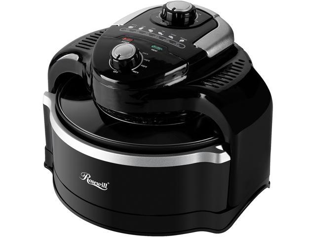Rosewill Air Fryer 7.4-Quart (7 Liter) Oil-Less Low Fat Multicooker with Temperature and Timer Settings, 1000W Infrared ...
