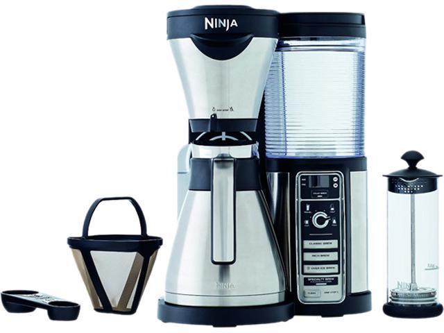 ninja coffee cf086 coffee bar brewer with thermal carafe and ...