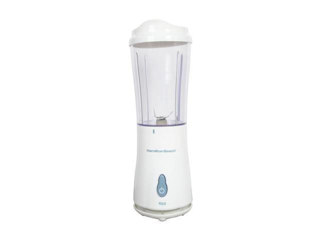 Hamilton Beach 51101 White Single Serve Blender With Travel Lid