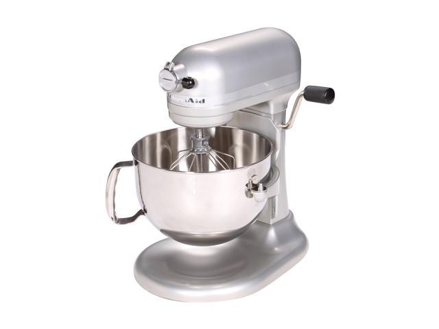 KitchenAid Professional 600 Series 6-Quart Stand Mixer Nickel Pearl ...