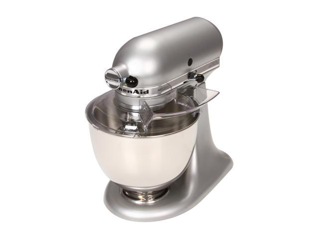 Lovely KitchenAid KSM150PSSM Artisan Series 5 Quart Tilt Head Stand Mixer Silver  Metallic