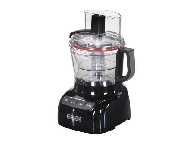 Kitchenaid Kfp0922ob Onyx Black 9 Cup Food Processor With