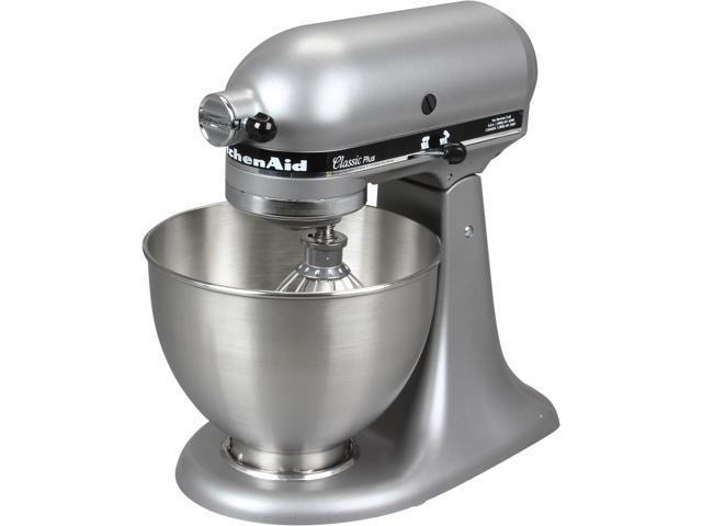 889f61d7afb KitchenAid KSM75SL Classic Plus Series 4.5-Quart Tilt-Head Stand Mixer  Silver