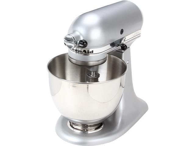 KitchenAid KSM85PBSM 4.5-Quart Tilt-Head Stand Mixer Silver Metallic -  Newegg.com