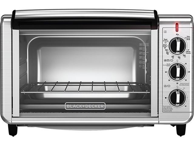 Black Decker To3230sbd 6 Slice Convection Toaster Oven