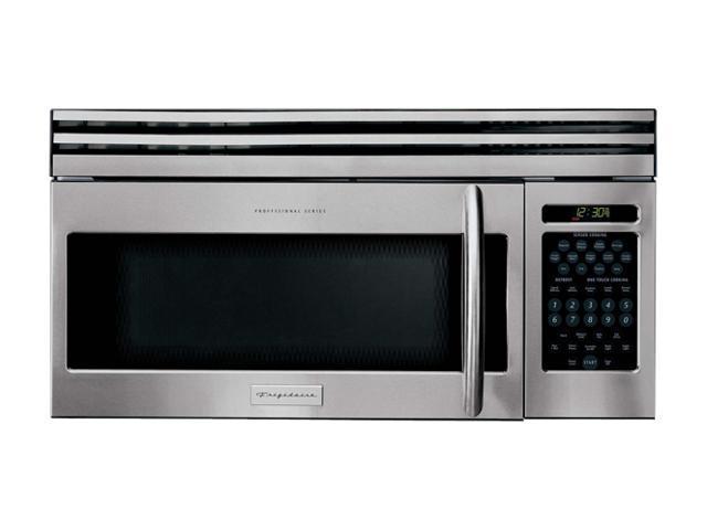 Frigidaire 1000 Watts 1 6 Cu Ft Over The Range Microwave Oven Plmv169dc