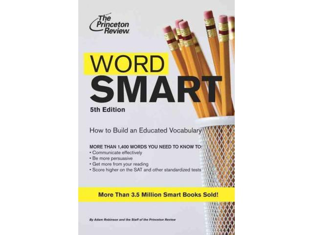 Word Smart Word Smart (Building an Educated Vocabulary) 5 - Newegg com