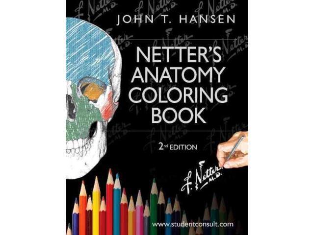 Netter\'s Anatomy Coloring Book Netter Basic Science 2 CLR ...