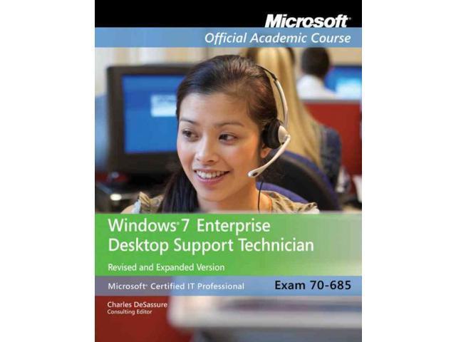 Windows 7 Enterprise Desktop Support Technician Exam 70 685 Newegg