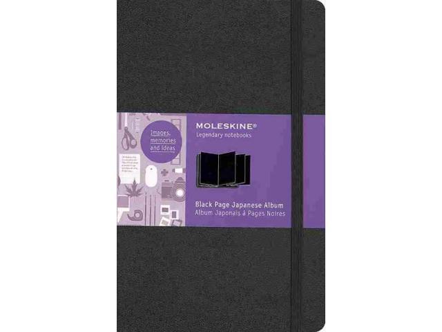 Moleskine Black Page Album Japanese Large Orn Newegg